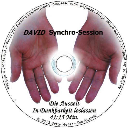 "DAVID Session-CD ""In Dankbarkeit loslassen"