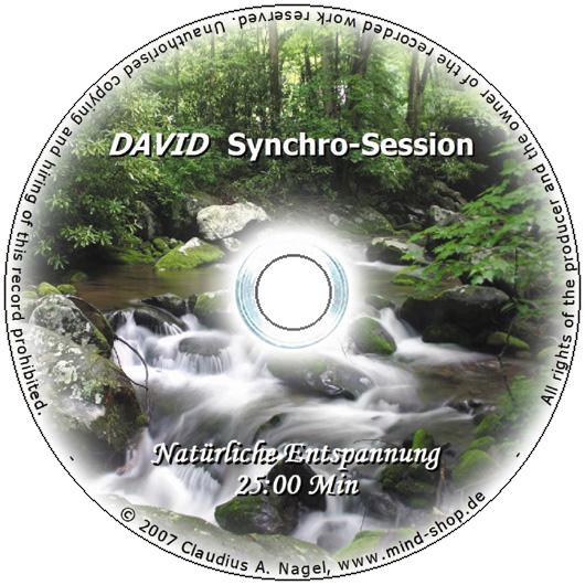 """DAVID Session-CD """"Natürliche Entspannung"""