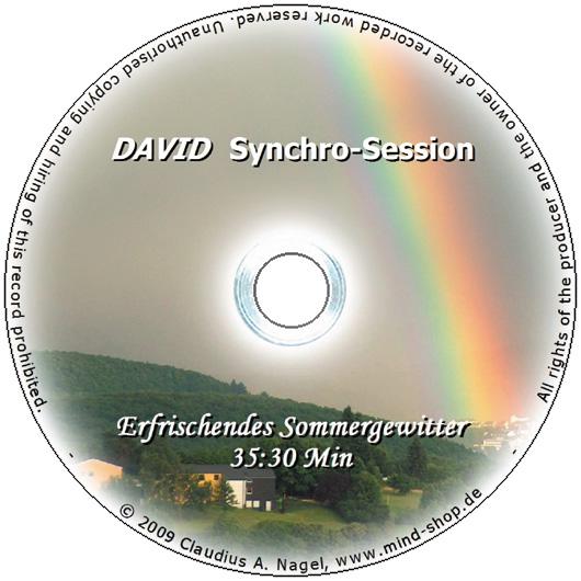 """DAVID Session-CD """"Erfrischendes Sommergewitter"""