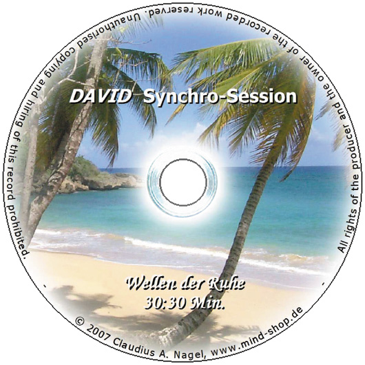 "DAVID Synchro-Session ""Wellen der Ruhe"""